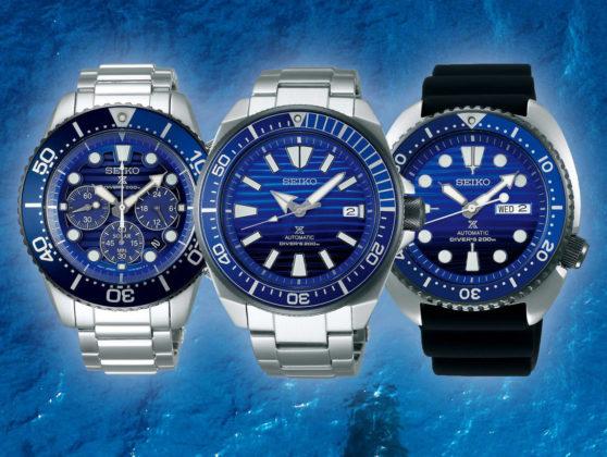 SEIKO Prospex - Save the ocean