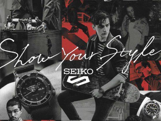 SEIKO 5 - Show your style
